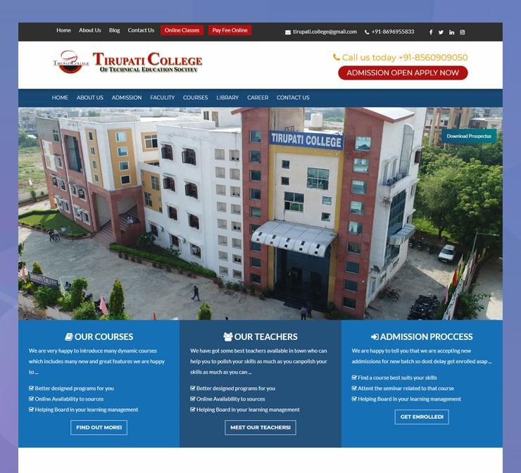 Tirupati College